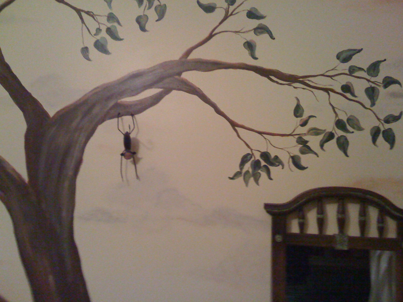 Custom Mural painted by Jennifer Rizzo