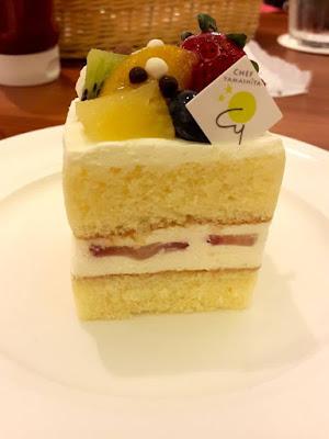 Ichigo Short Cake by Chef Yamashita at Patties & Wiches