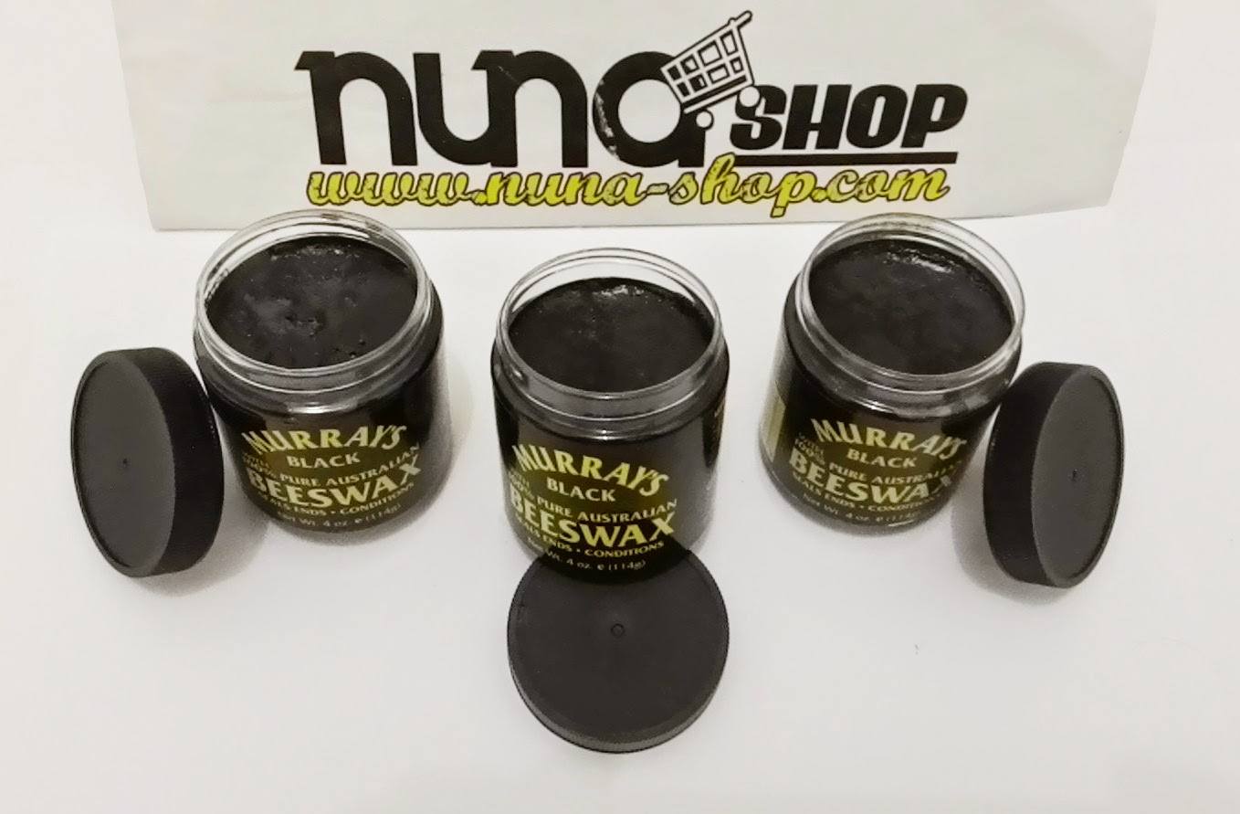 Murray's Black Beeswax Hair care pomade, 100% Pure Australian - Nuna Shop