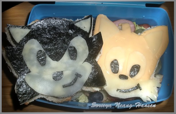Sorieya 39 s homemade cooking fun sandwiches i made for my kids for Sonic fish sandwich