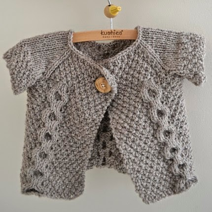 Otto Day Cardigan (Revised) - Free Pattern