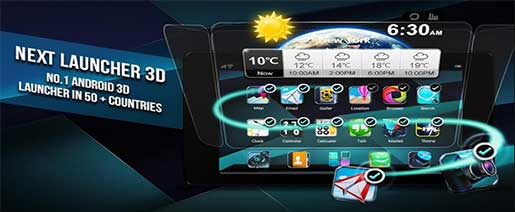 Next Launcher 3D Shell Apk v3.7.2 build 156
