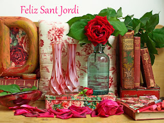 Decoracion de Sant jordi