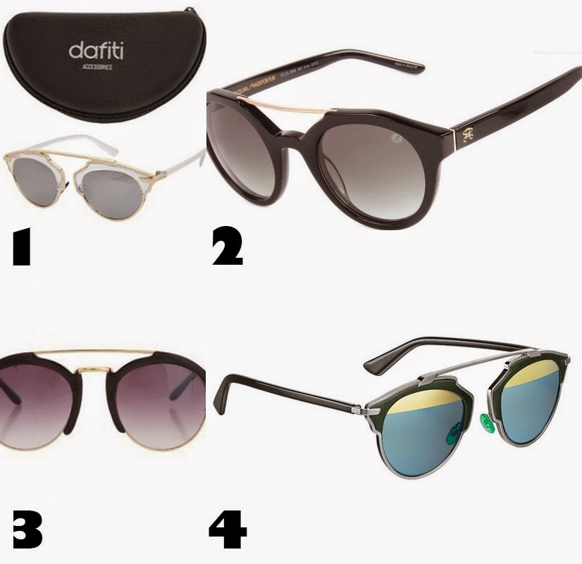 óculos na moda