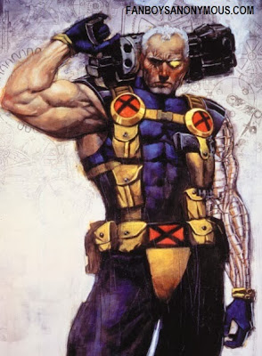 Marvel comics X-Man Cable Nathan Summers