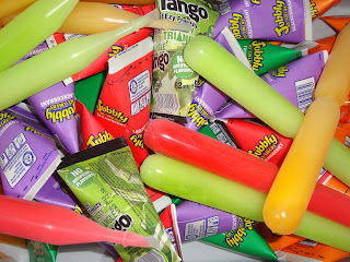A different selection of Ice Pops