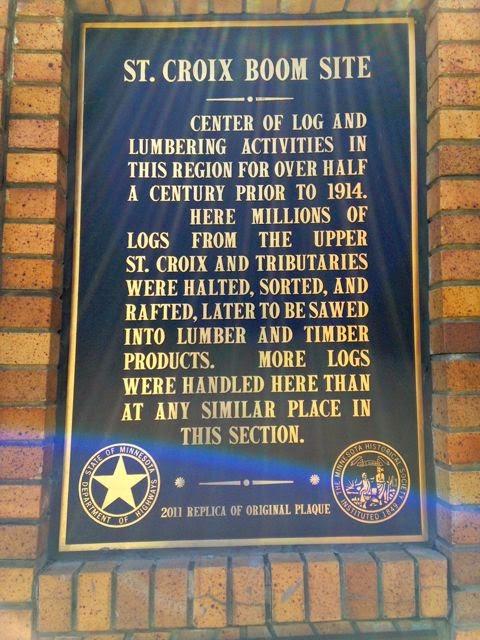 lumbering historic marker