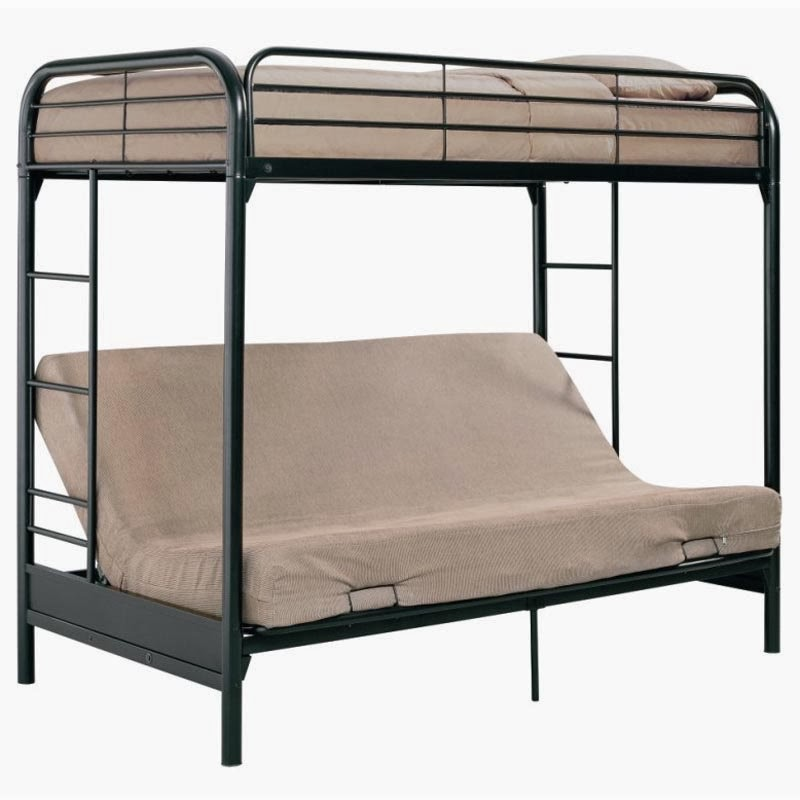New Home Depot: Bunk Bed With Futon 800 x 800