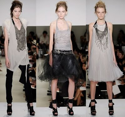 Fashion Blogspot  on Vera Wang Spring Summer 2010 New York Fashion Week