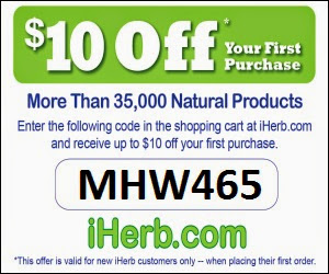iHerb Coupon Code - Press here to get your discount
