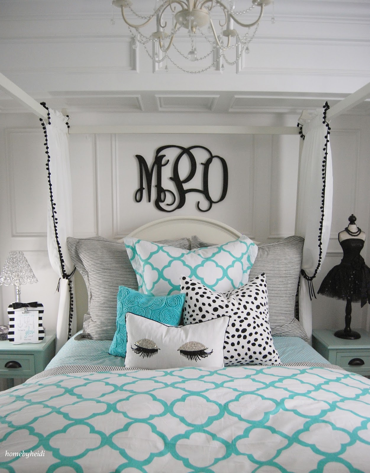 Home by heidi tiffany inspired bedroom for Teen bedroom decor