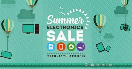 SnapDeal Summer Electronics Sale