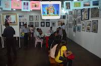 Amnesty Prison Art Show 2012 ပိတ္ပြဲေန႔ စည္ကား