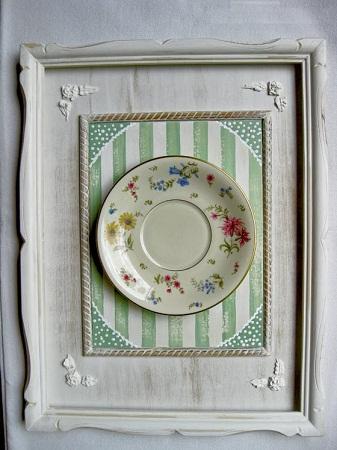 Ideas para reciclar platos decoraci n for Materiales reciclados para decoracion
