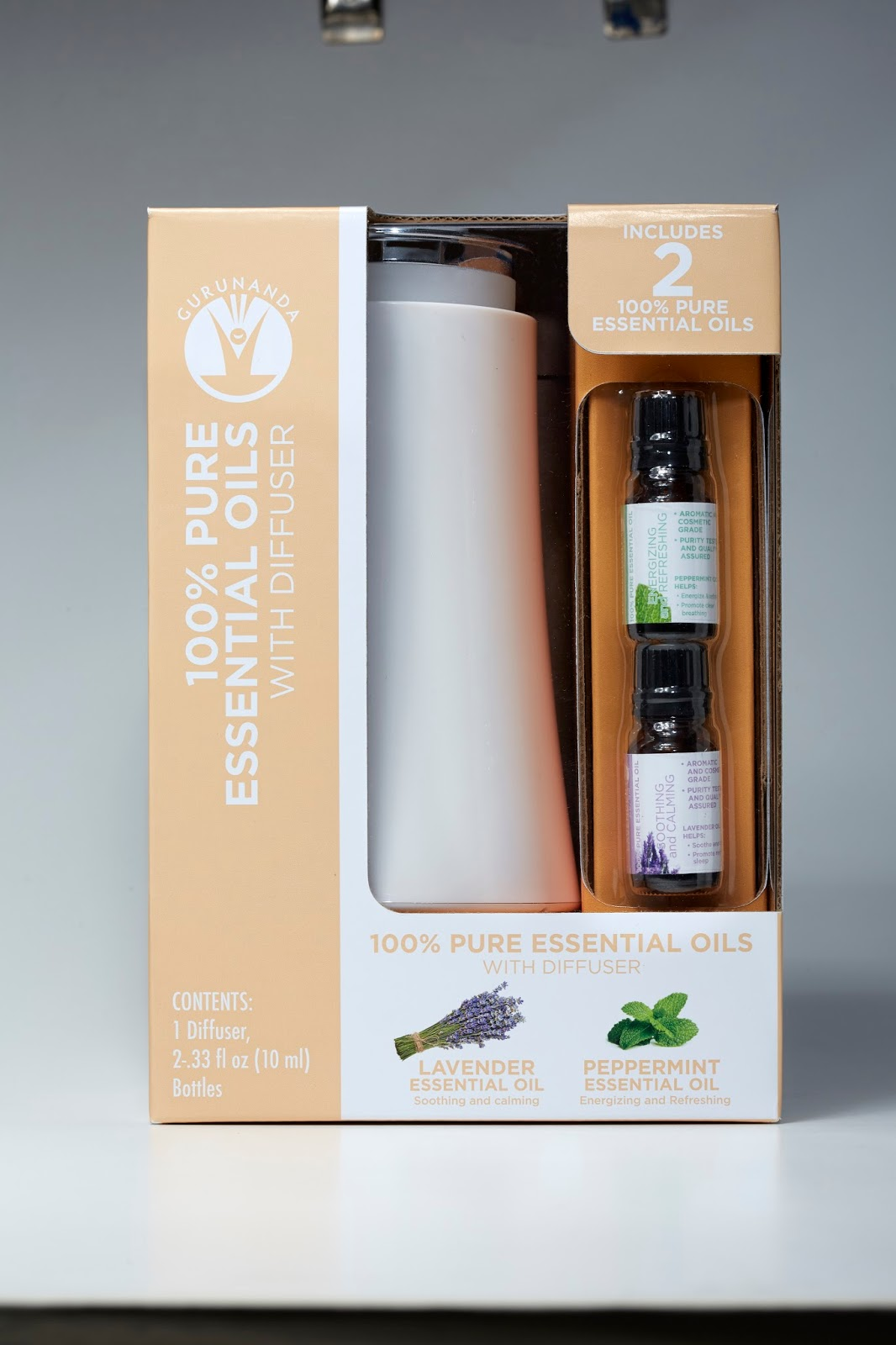 Essential Oil Diffuser Walmart ~ Heck of a bunch gurunanda essential oil diffuser gift set