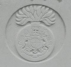 A Fusiliers headstone in Jonkerbos Cemetery