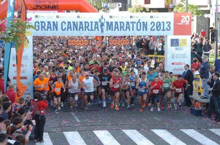 MARATÓN DE GRAN CANARIA 2013