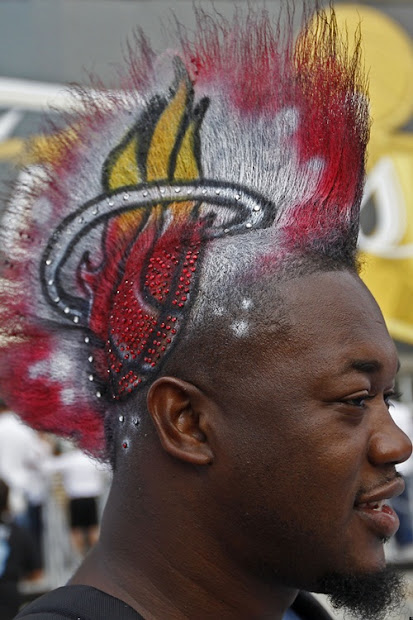 9 mohawk haircut black men