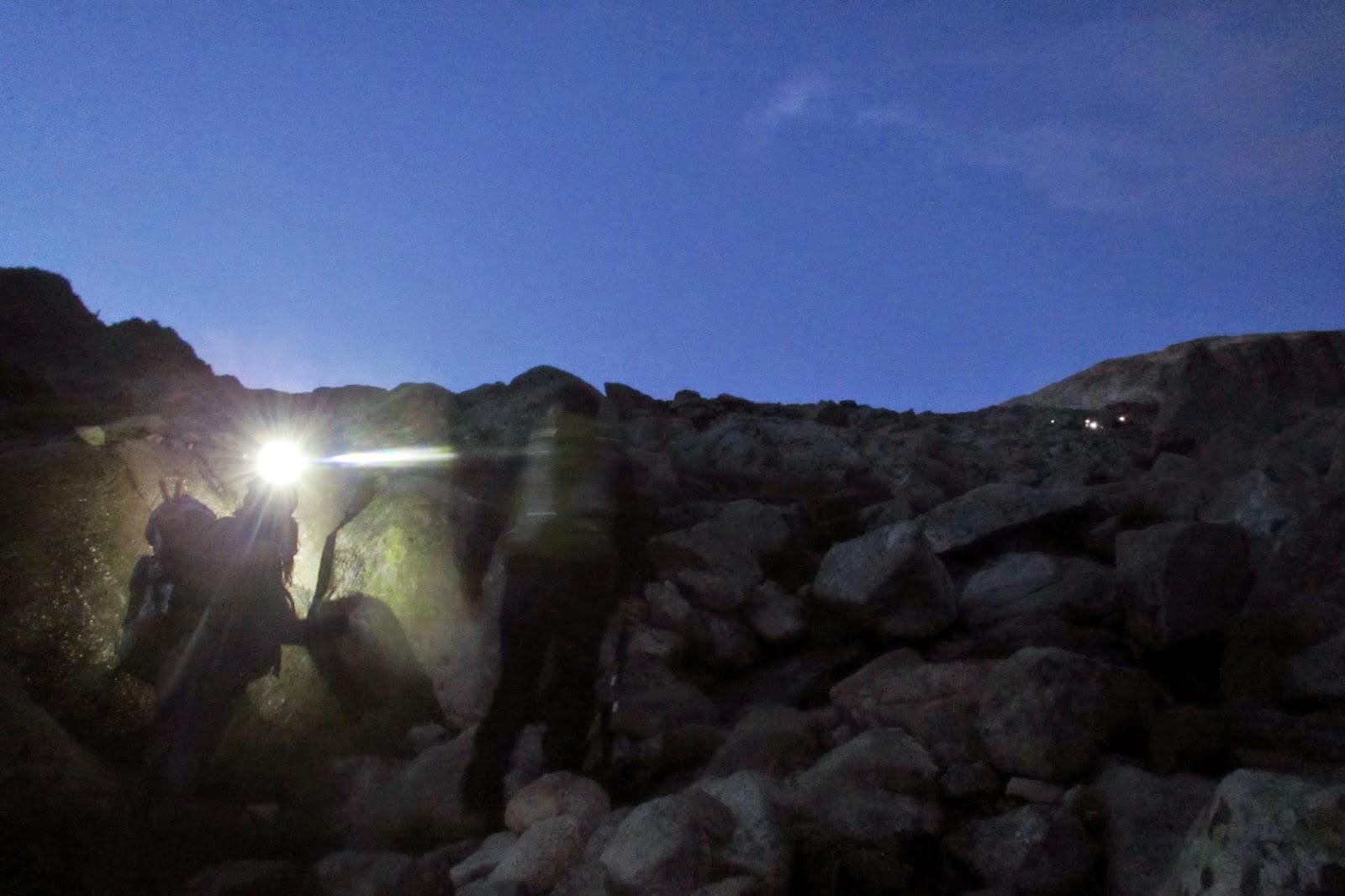 Pedrera ascensión al Aneto