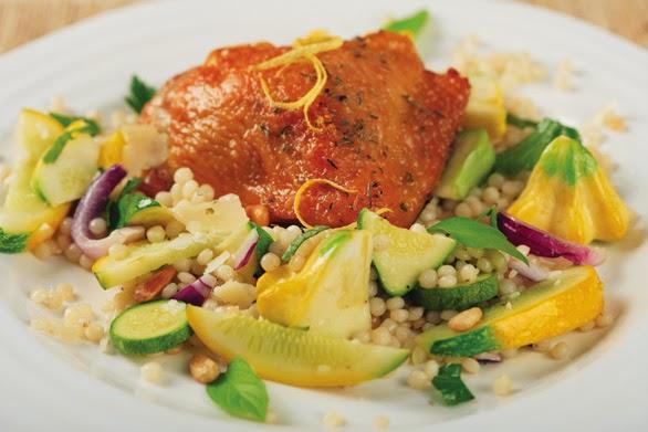 Herbed Summer Squash Pasta Salad Recipe