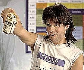 David Cross as Ronnie holding a beer can and looking stupid in Run Ronnie Run movieloversreviews.filminspector.com