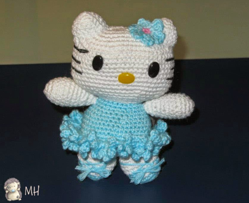 Amigurumi Gatita Kitty : MADRES HIPERACTIVAS: manualidades y DIY con y para ninos ...