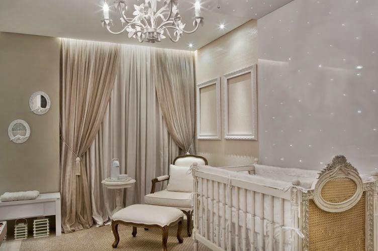 50 Quartos de bebês decorados – meninos e meninas! Decor  ~ Quarto Planejado Com Nichos