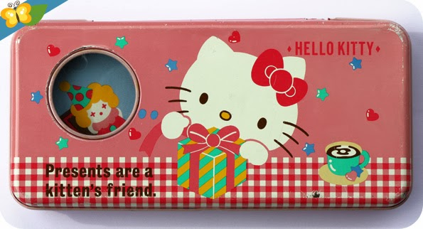 "Mon plumier ""Pleasantime"" Hello Kitty"