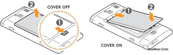 Samsung Omnia 7 GT-I8700 Remove Cover Attach Back Casing
