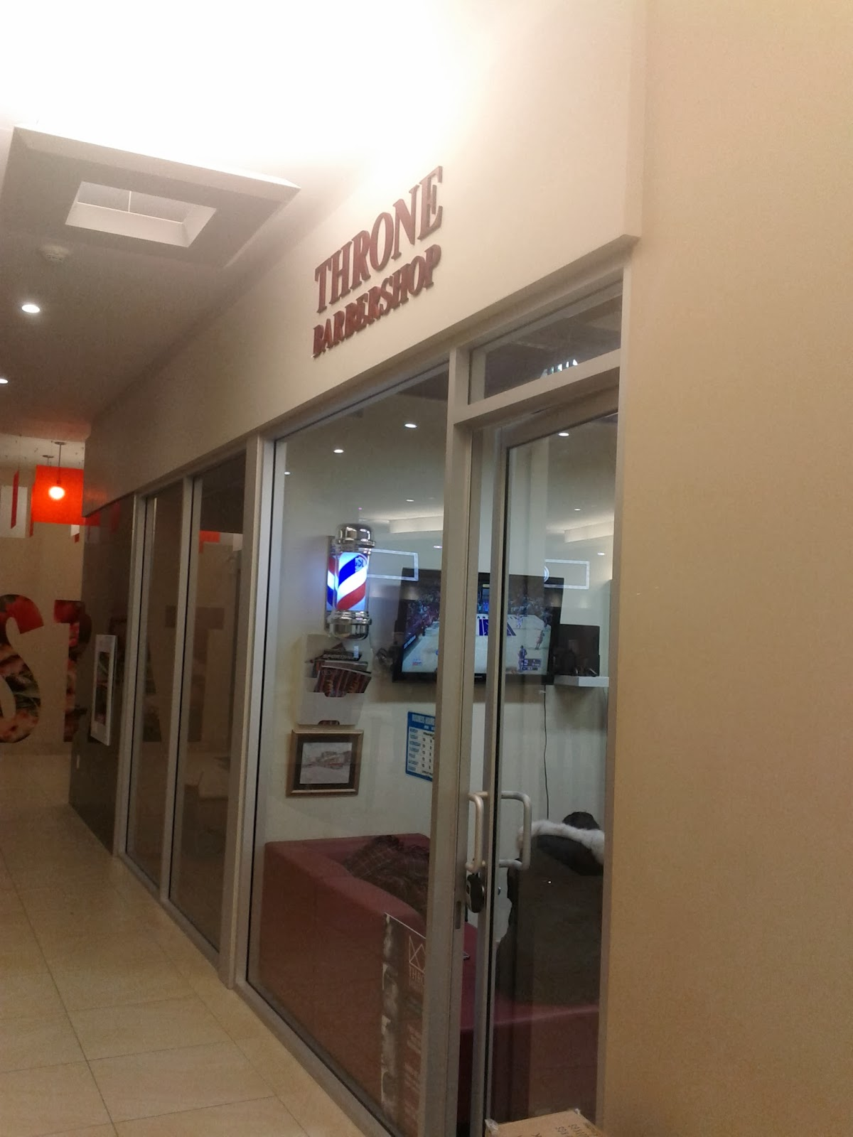 Travel Toronto Now: Throne Barber Shop open in Aura building shops