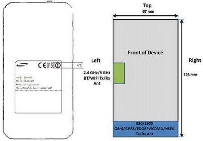 AT&T Samsung Focus S on FCC