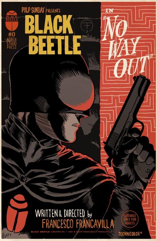 Black beetle comics - photo#2