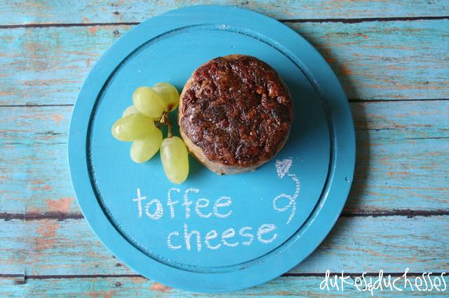 Randi Dukes, Dukes & Duckhesses, toffee cheese, cheese tray, chalkboard paint