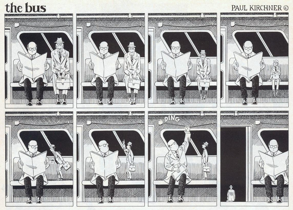 ©#LibrosPop: The Bus by Paul Kirchner | LasMilVidas
