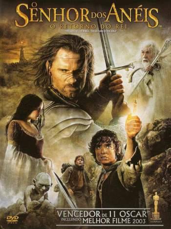 O Senhor dos Anéis: O Retorno do Rei Torrent - BluRay 1080p Dual Áudio