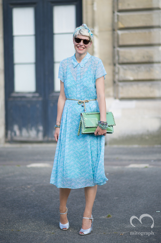 mitograph Elisa Nalin After Thom Browne Paris Mens Fashion Week 2014 Spring Summer PFW Street Style Shimpei Mito