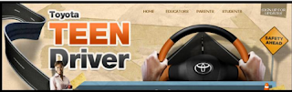 Toyota Teen Driver website, Safe driving resource