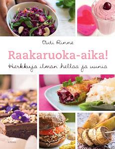 Ensimmäinen ruokakirjani on ilmestynyt!