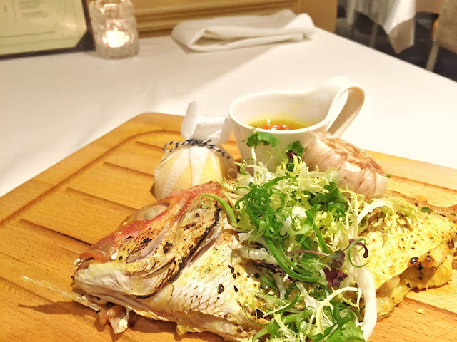 The Royal Mail Singapore - Whole Roasted Japanese Yellow Sea Bream