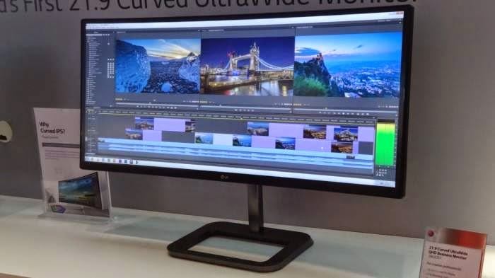 LG introduces 34-inch curved monitor | TekkiPedia News