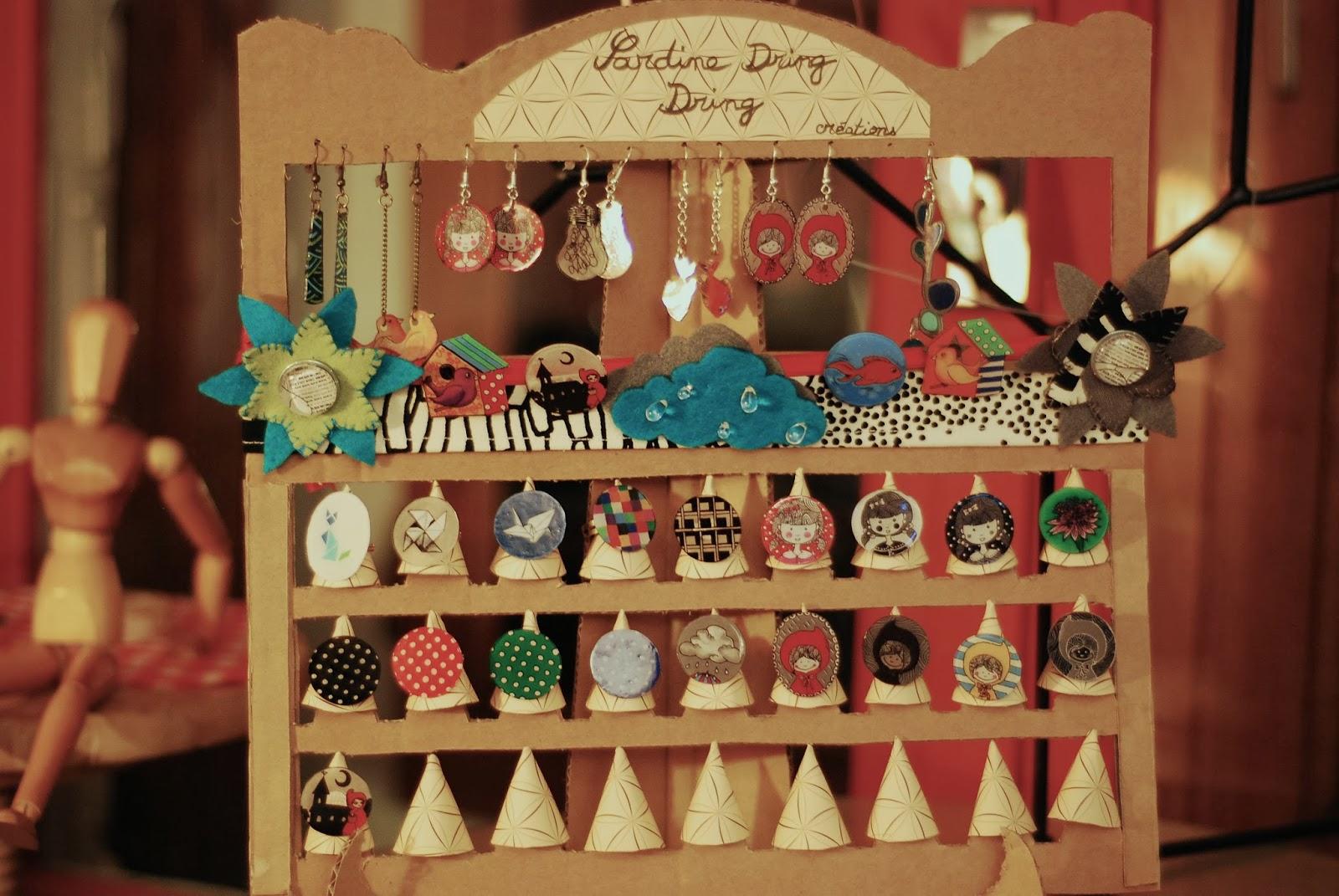 Tambouille et bagatelle un joli pr sentoir pour bijoux - Presentoire a bijoux ...
