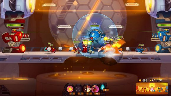 awesomenauts pc game review gameplay screenshot 1 Awesomenauts v2.0a Incl 30 DLCs Cracked 3DM