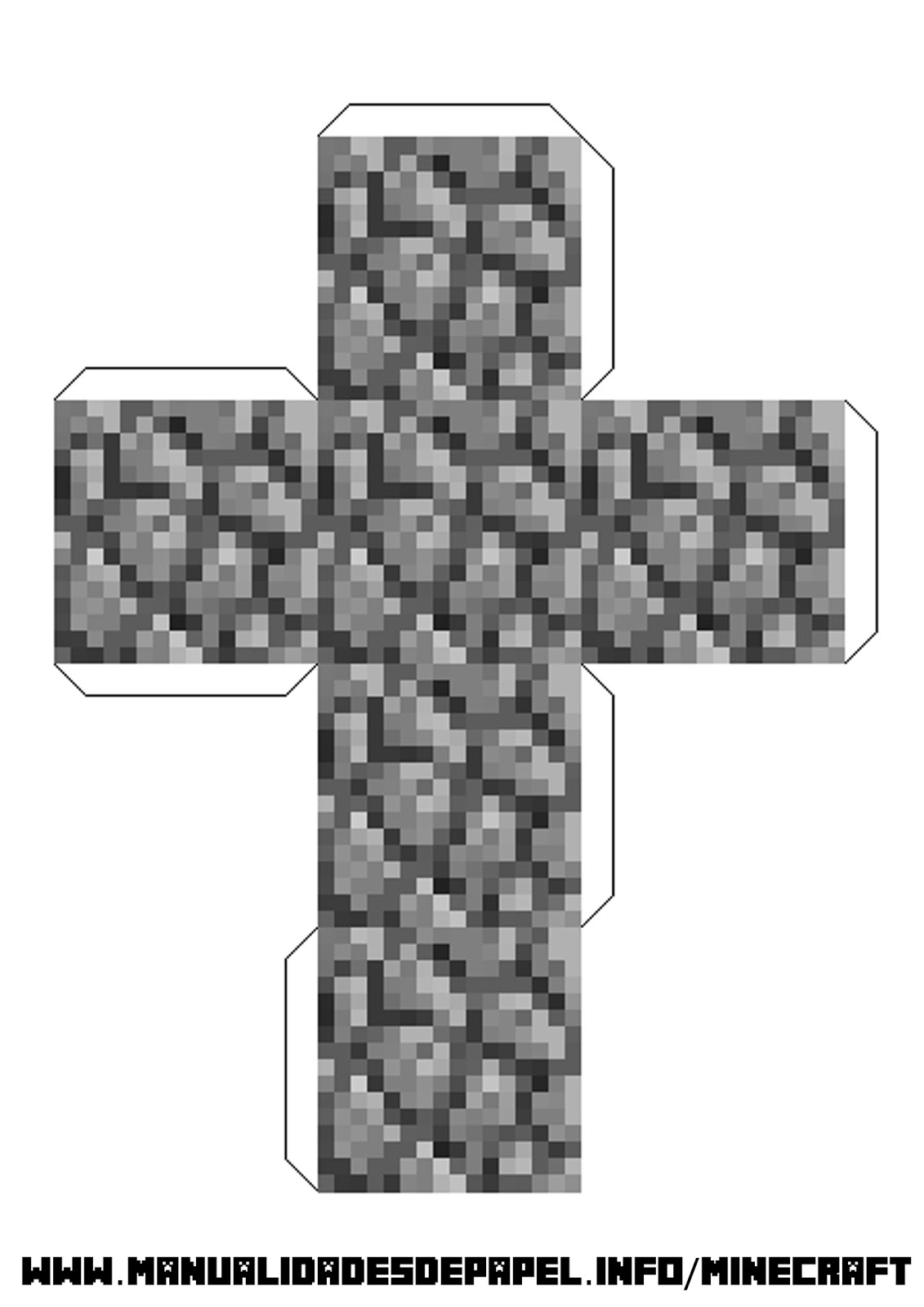 блоки из майнкрафта из бумаги фото #6