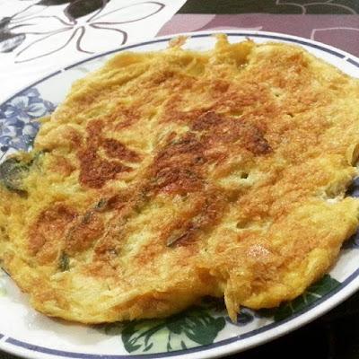 Telur dadar sedap