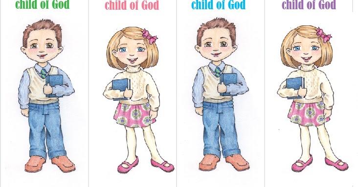 susan fitch design: A child of God....bookmarks