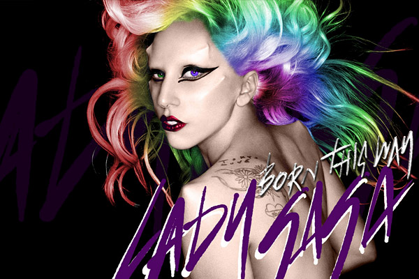 lady gaga born this way cover wallpaper. wallpaper Born This Way Video