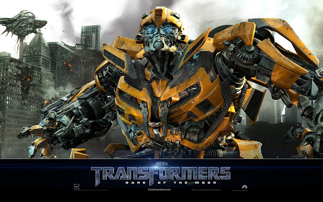 wallpaper transformers bumblebee. moon wallpaper bumblebee.
