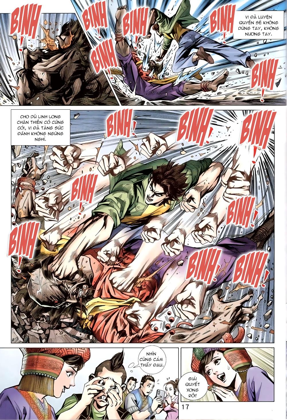 Tân Tác Long Hổ Môn chap 820 Trang 16 - Mangak.info