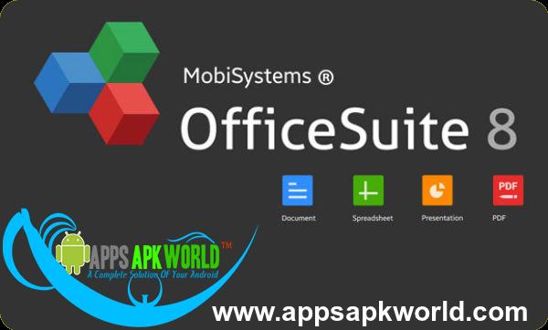 OfficeSuite 8 Premium + PDF Converter v8.1.2758 Cracked Modded APK
