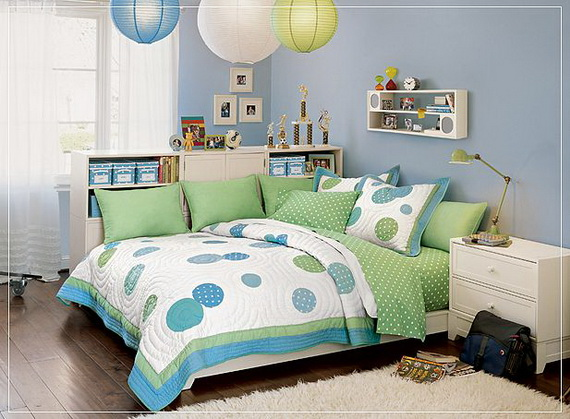 Small Teenage Bedroom Designs